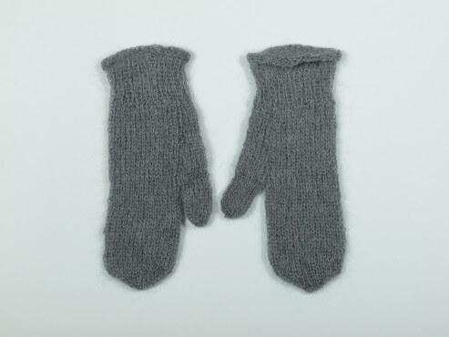 Rękawiczki kolor szary