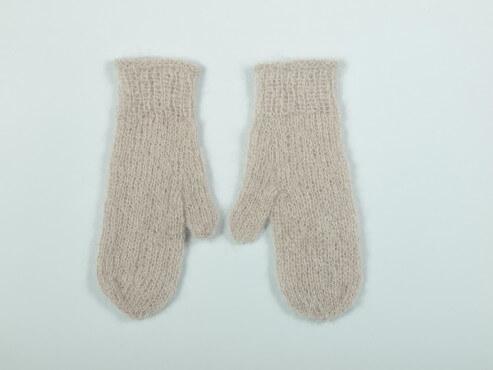 Rękawiczki pudrowy beż
